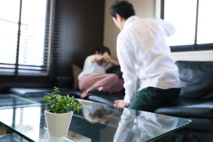 配偶者からのDV被害の8割が女性