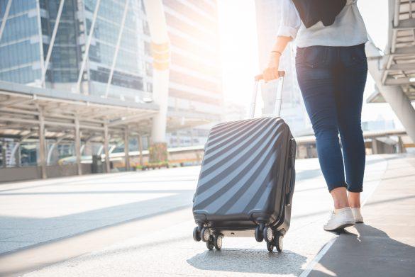スーツケースをタクシーに忘れる…