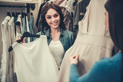 ファッションコーデ ショッピング同行レポート