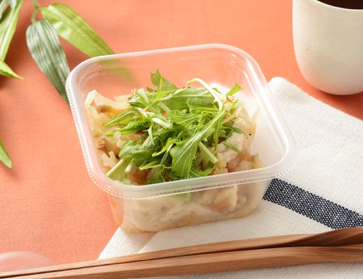 ローソンの「サラダチキンと切干大根の和サラダ」200円