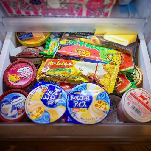スティック、カップ、コーンアイス専用収納ボックス