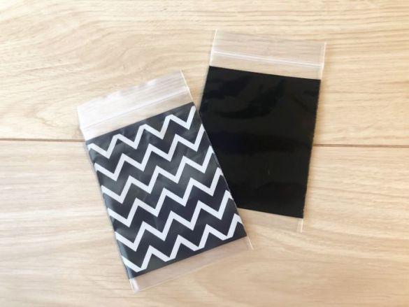 【チャック付ポリ袋 ZIPPER BAG】108円