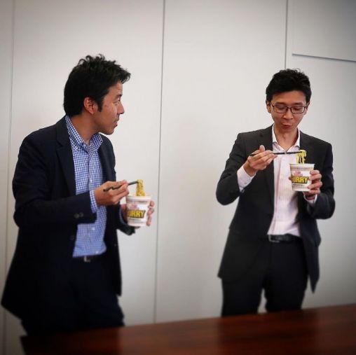 日清食品・白澤勉さん/ロッテ・安藤崇平さん 感想