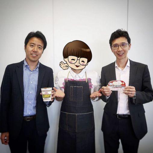 日清食品・白澤勉さん/シズリーナ/ロッテ・安藤崇平さん