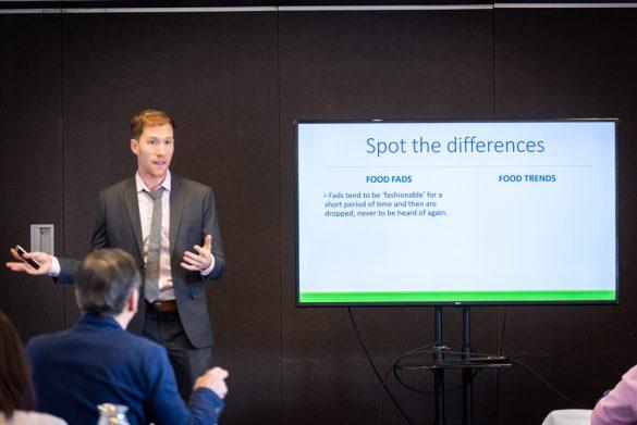 NZ Chris Vogliano管理栄養士修士によるプレゼンテーション