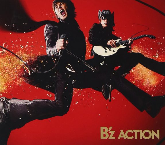 B'z「ACTION」VERMILLION RECORDS