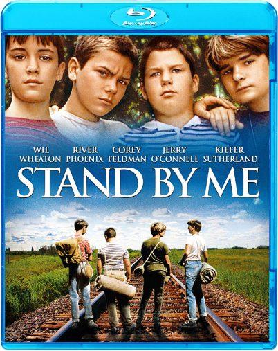 映画『スタンド・バイ・ミー』のDVD。リヴァー・フェニックスは写真左から二番目 ※画像はAmazonより
