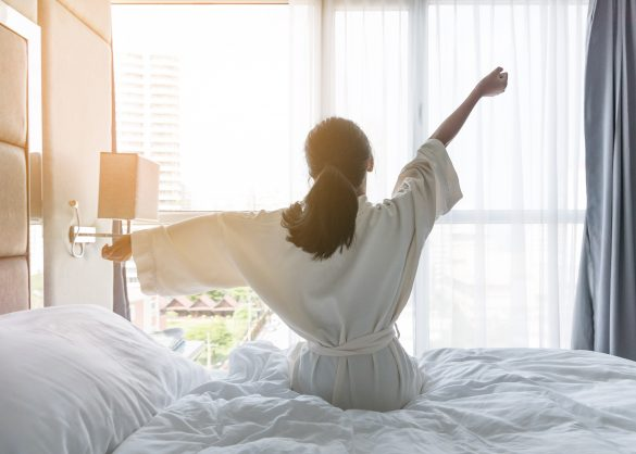胃弱の対策には充分な睡眠が大切