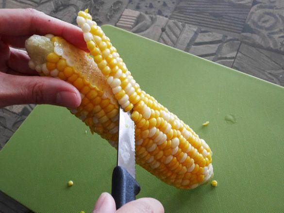 トウモロコシのきれいでおいしい食べ方