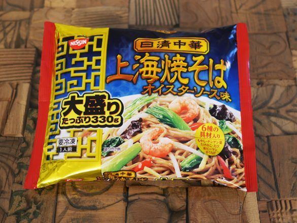 日清中華 上海焼きそばオイスターソース味(日清食品グループ)
