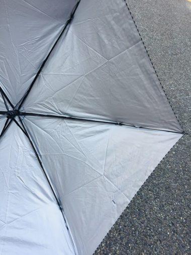 晴雨兼用折りたたみ傘 500円/3COINS