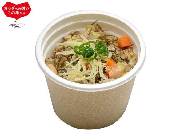 「12品目具材の和風生姜スープ」