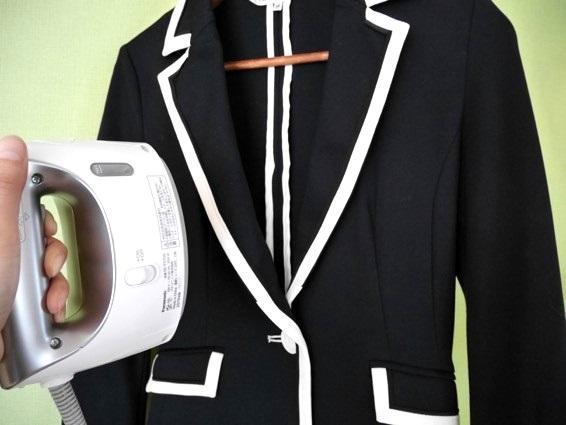 パナソニック衣類スチーマーを検証