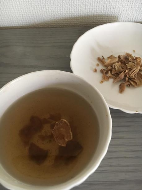 しょうが紅茶も簡単に作ることができる