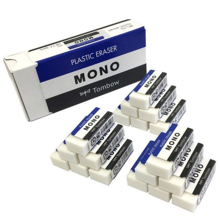 トンボ鉛筆 消しゴム MONO モノボックス 18個入