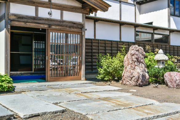 日本の古い旅館