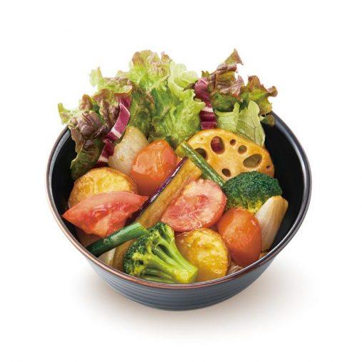 「ミニ野菜の黒酢あん(178kcal)」