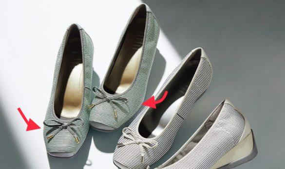 """靴選び方 第1のチェックポイントは""""靴の形状"""""""