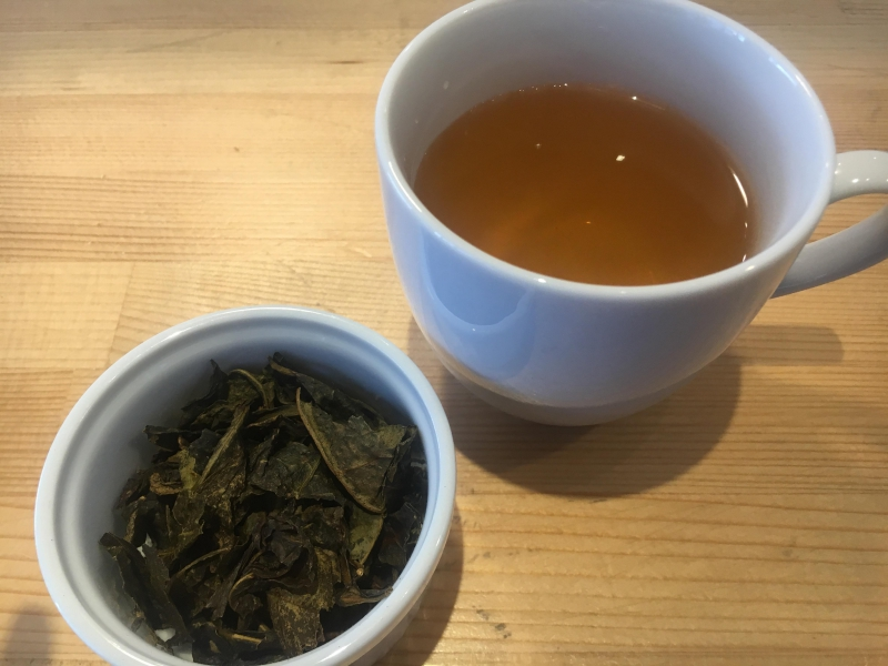 こちらは「阿波晩茶」。