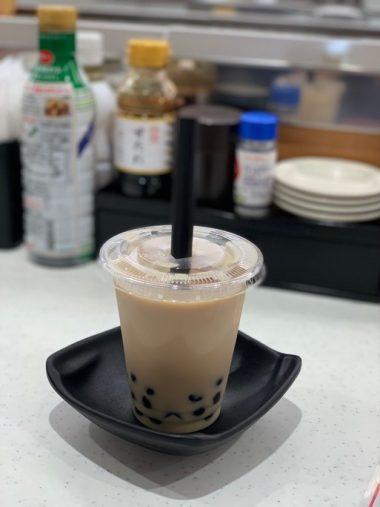 かっぱ寿司「タピオカ台湾ミルクティー」
