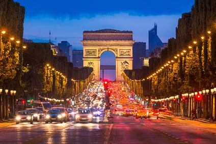 凱旋門パリ、フランス