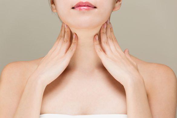 入浴中はリンパマッサージがおすすめ・頸部リンパ節