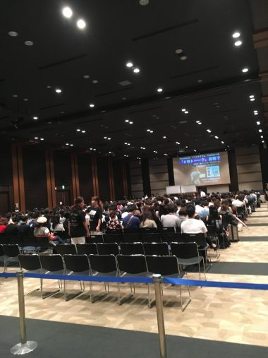 新刊記念講演会の参加者は650人!