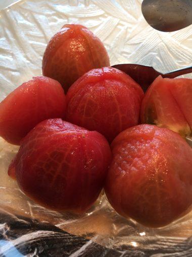 トマトの蜜漬け