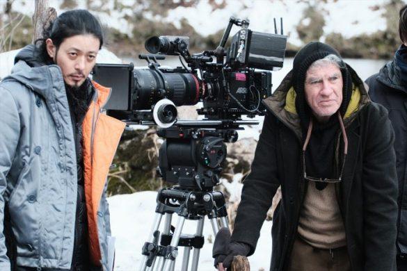 オダギリ監督&クリストファー・ドイル(冬)