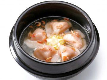 「スープエビ餃子」