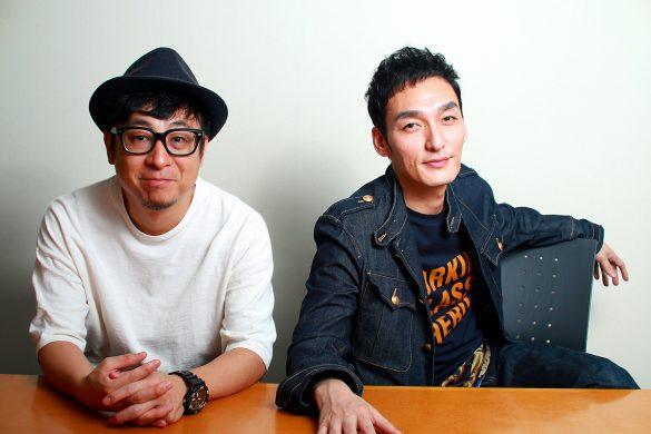 (左)市井昌秀監督、(右)草なぎ剛さん