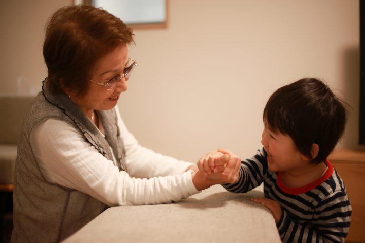筋金入りのおばあちゃん子彼氏