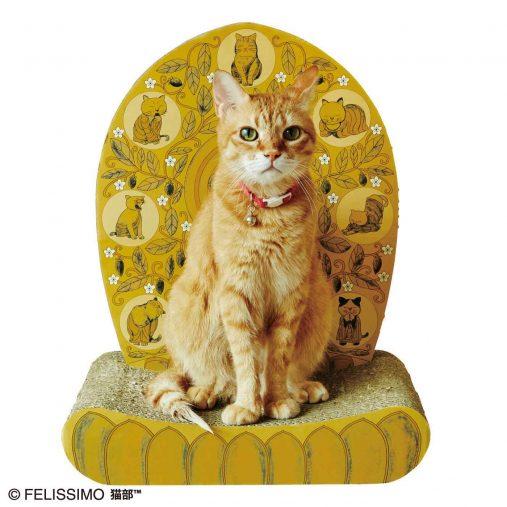 (※モデル猫:ししゃもくん/4kg)光背つめとぎ