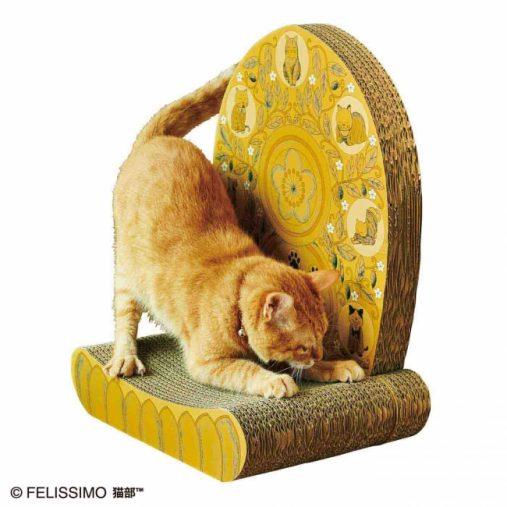 「おてらぶとコラボ! 愛猫はわが家のご本尊 光背つめとぎ」