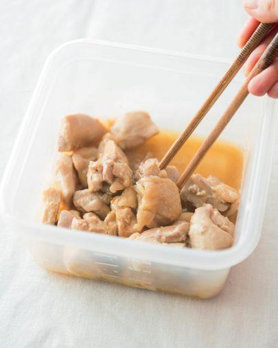 鶏モモ肉のバターポン酢