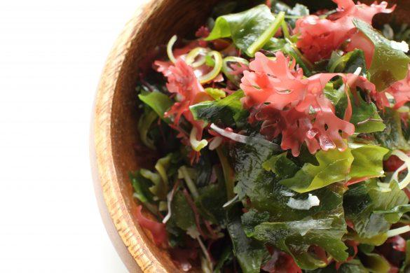 (2) 食物繊維が行方不明なサラダ