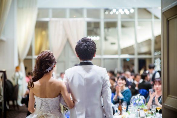 高校時代の友人の結婚式に参加