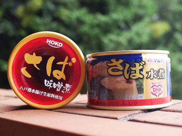 サバ缶 鯖