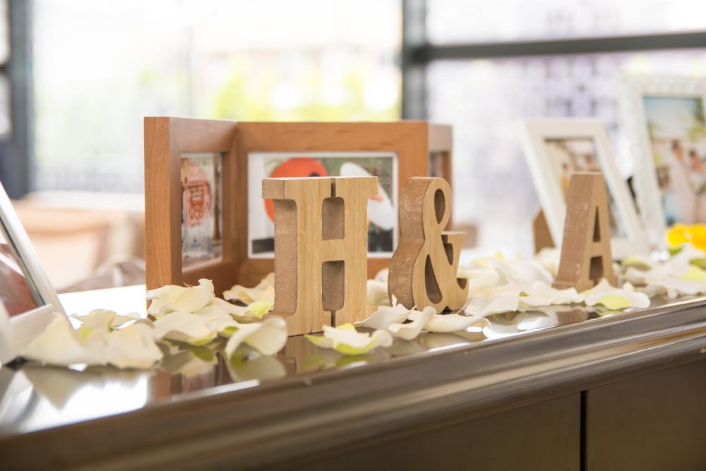 結婚式の装飾 ウェルカムボード