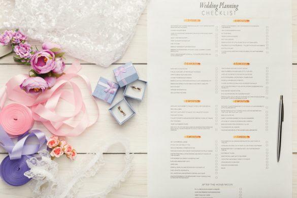 結婚式チェックリスト 規約