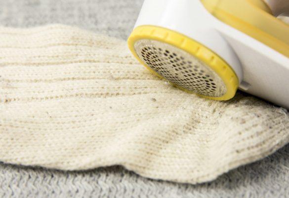 毛玉 セーター 靴下