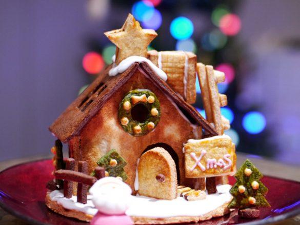 お菓子の家 ヘキセンハウス ●無印良品「自分でつくる 生地からつくる ヘクセンハウス」1190円