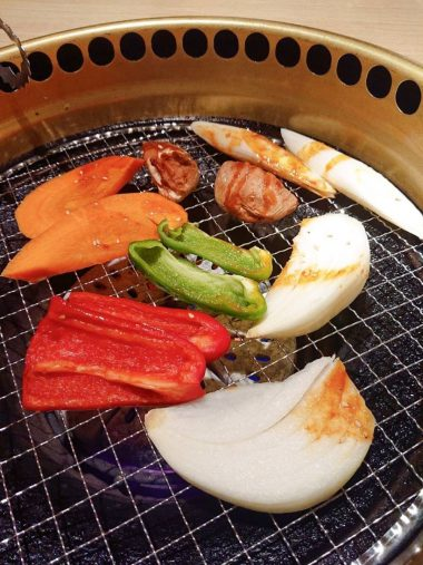 1日目の夕食焼き肉