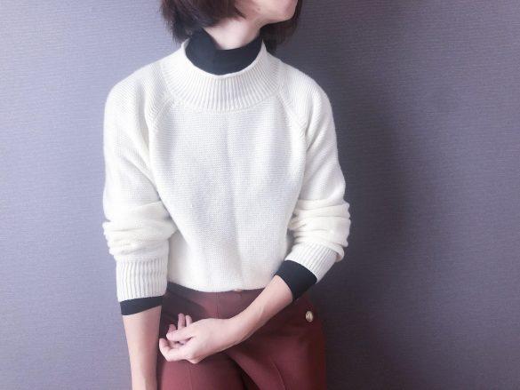 寒い日はセーターの下に着るといい
