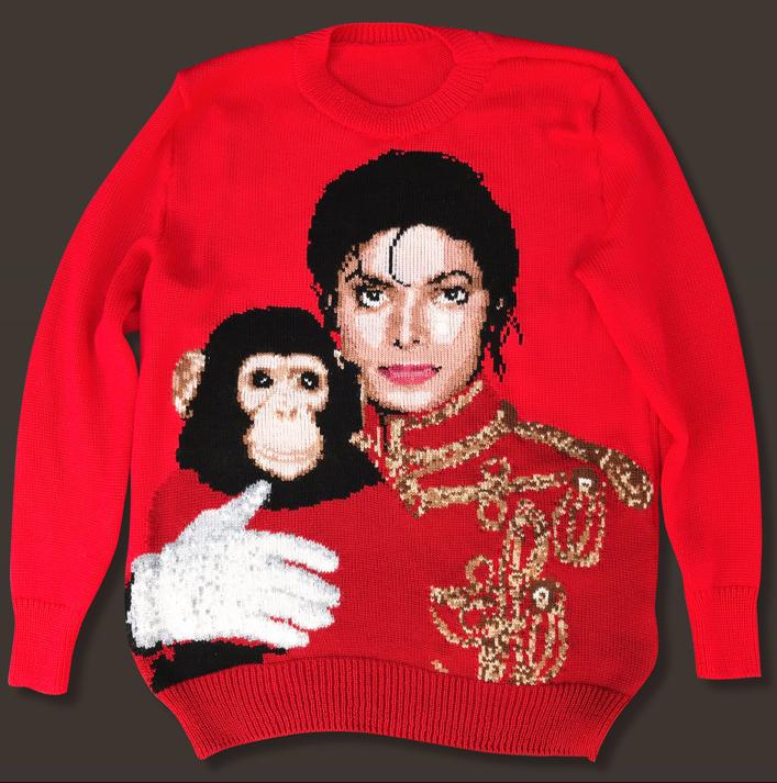 マイケル・ジャクソンのセーター