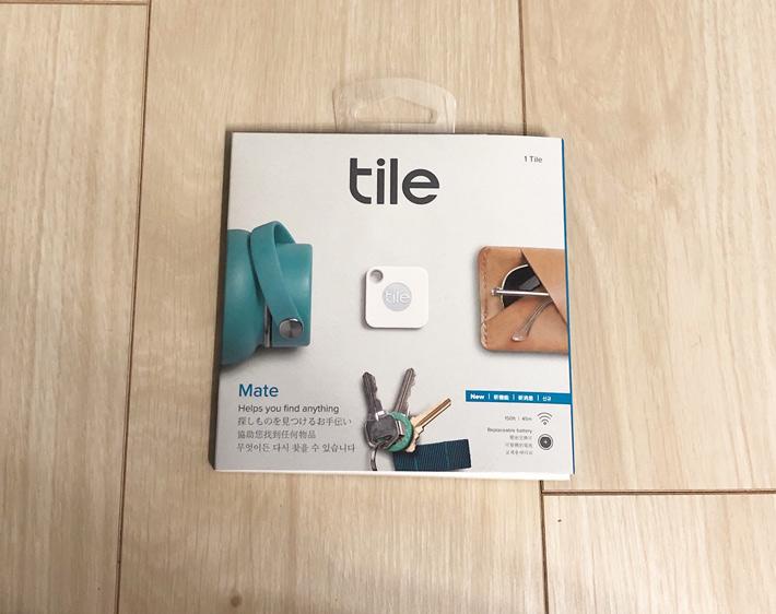 スマートトラッカー(忘れ物防止タグ)『Tile』