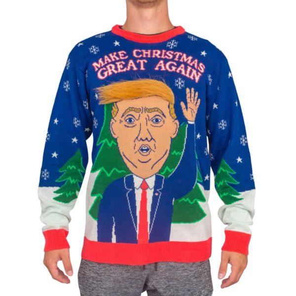 トランプ(写真は Ugly Christmas Sweaters公式サイトより)