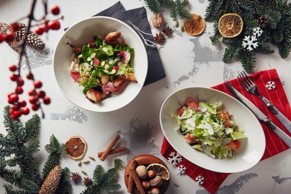 大事にすべきは3つ。 クリスマスにも活躍する「オシャレサラダ」レシピ