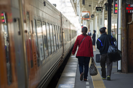 帰省、電車、旅行