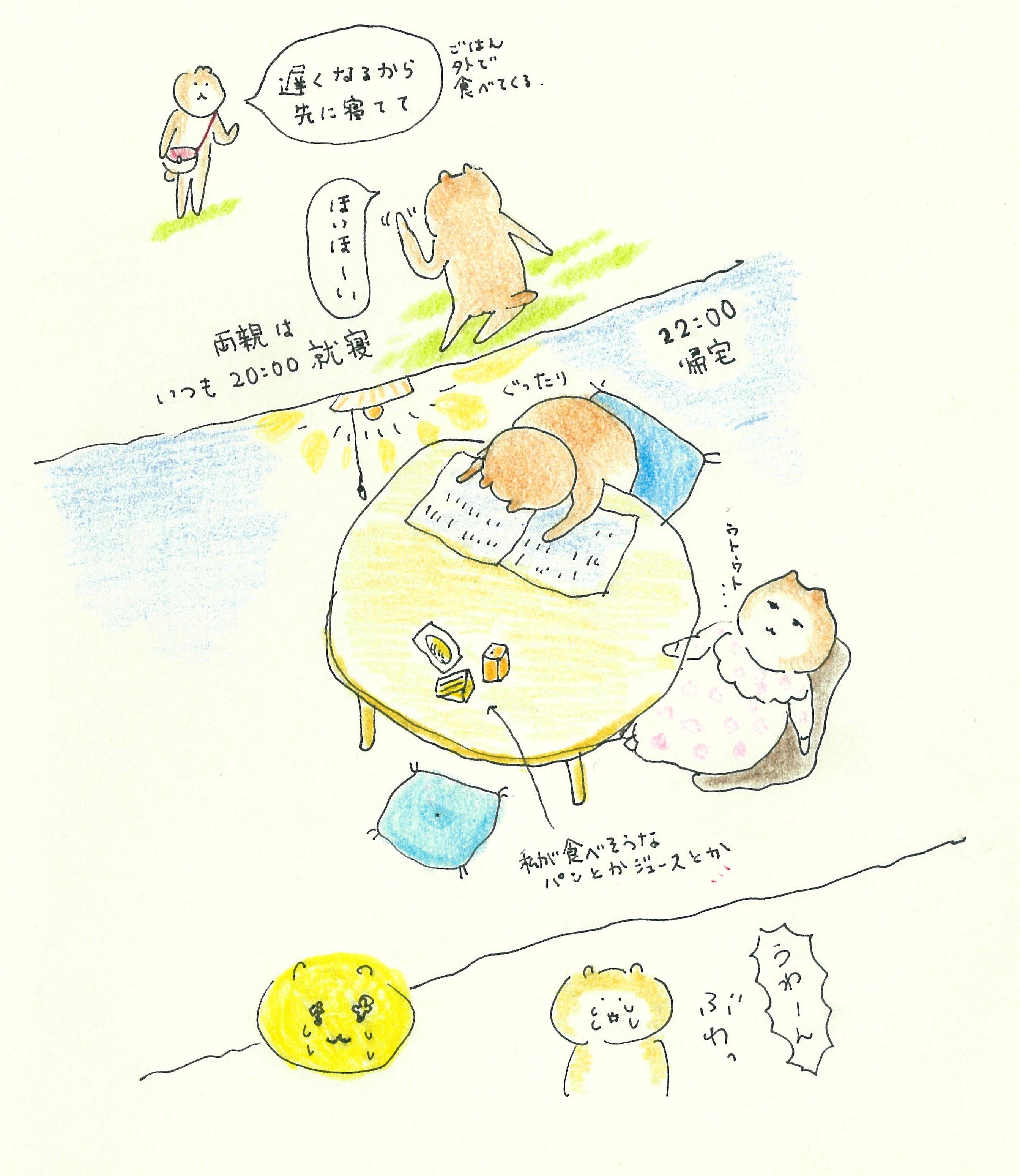 ぶぶちよ絵日記15-4